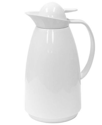 Primula Coffee Carafe, 1L White with Glass Lining