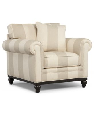 Martha Stewart Collection Club Living Room Arm Chair - Furniture