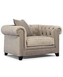 Martha Stewart Collection Saybridge Sofa Furniture Macy S