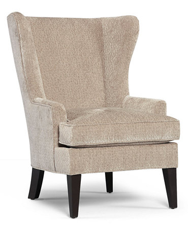 Martha Stewart Collection Living Room Chair Saybridge Accent Wing Furnitur