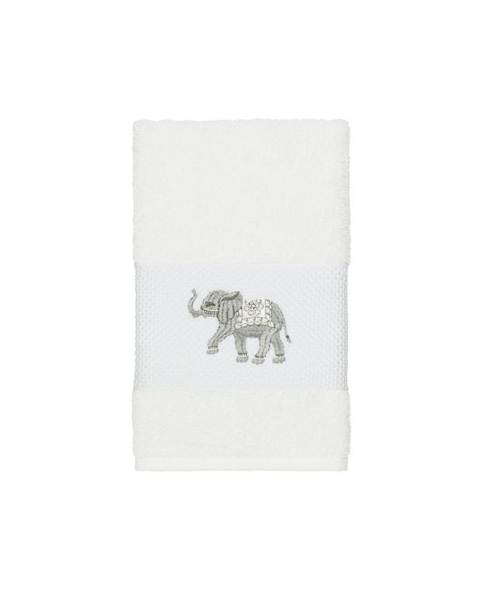 Linum Home - Quinn Embroidered Turkish Cotton Hand Towel