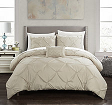Chic Home Daya 8 Pc King  Duvet Set