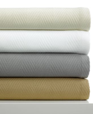 Hotel Collection Bedding, Full/Queen Cotton Blanket