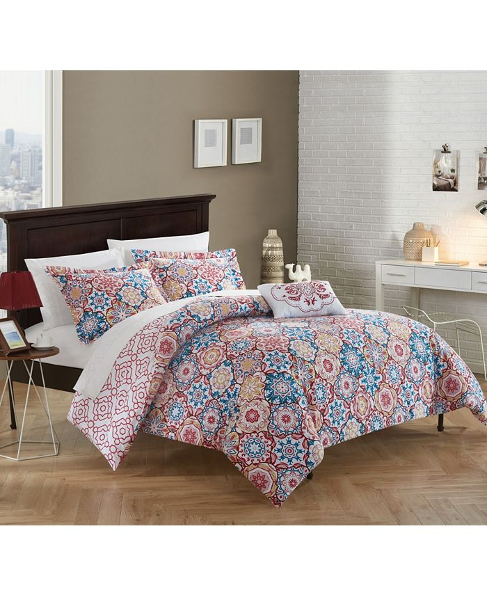 Chic Home - Bristol 4-Pc. Duvet Cover Sets