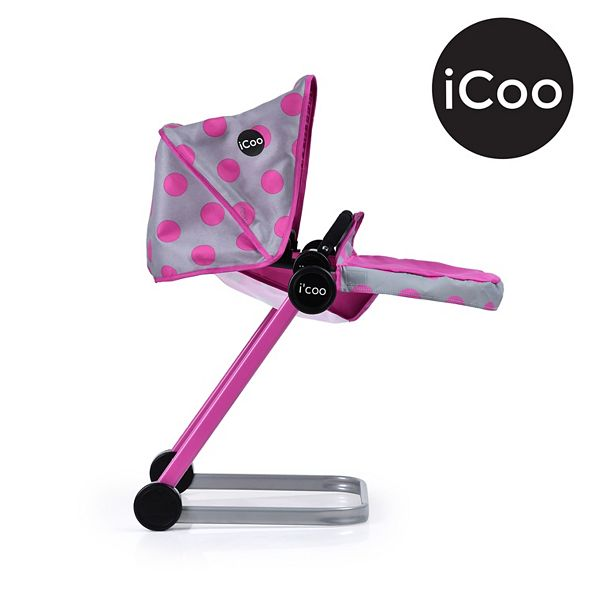 Icoo Grow With Me Doll Playset Stroller Bassinet And High Chair