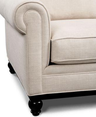 Martha Stewart Collection Sofa Club Furniture Macy S