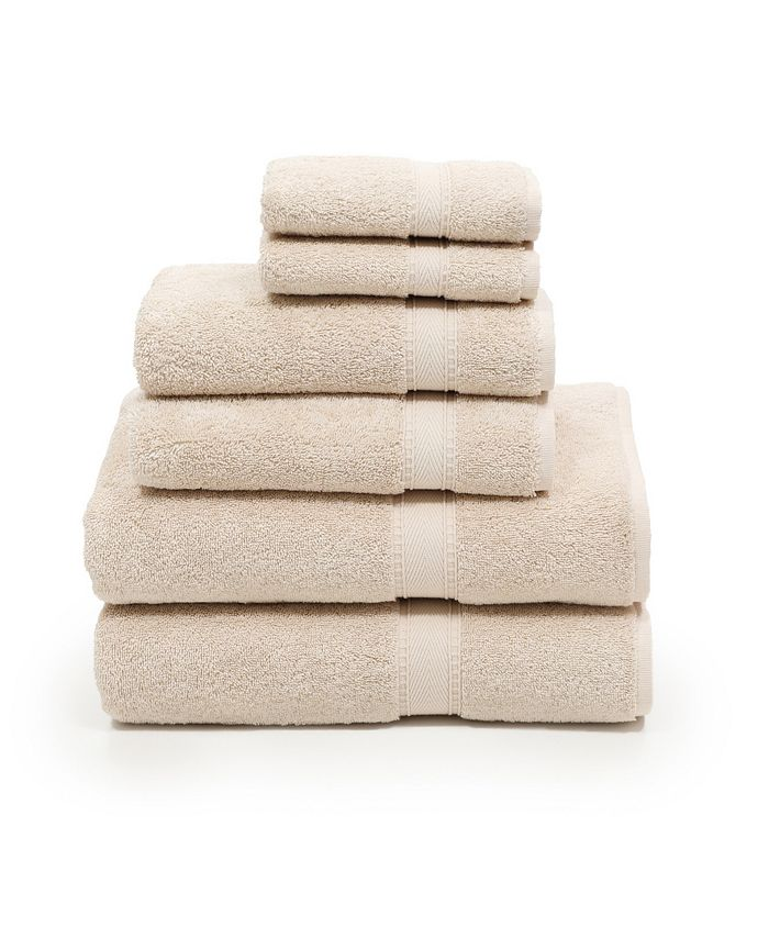Linum Home - Sinemis Terry 6-Pc. Towel Set