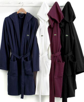 Lacoste Robe, Casual Pique Bath Robe
