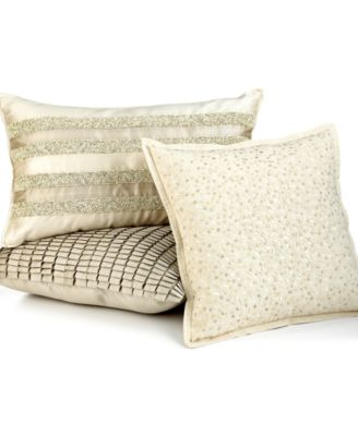 "Hotel Collection Celestial 16"" Square Decorative Pillow"