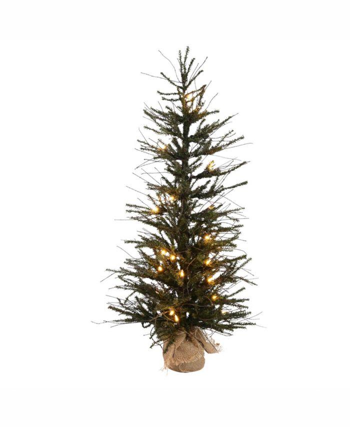 Vickerman 30 inch Vienna Twig Artificial Christmas Tree & Reviews - Holiday Shop - Home - Macy's