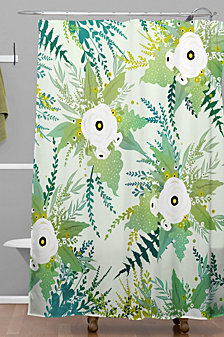 Deny Designs Iveta Abolina Lula Garden I Shower Curtain