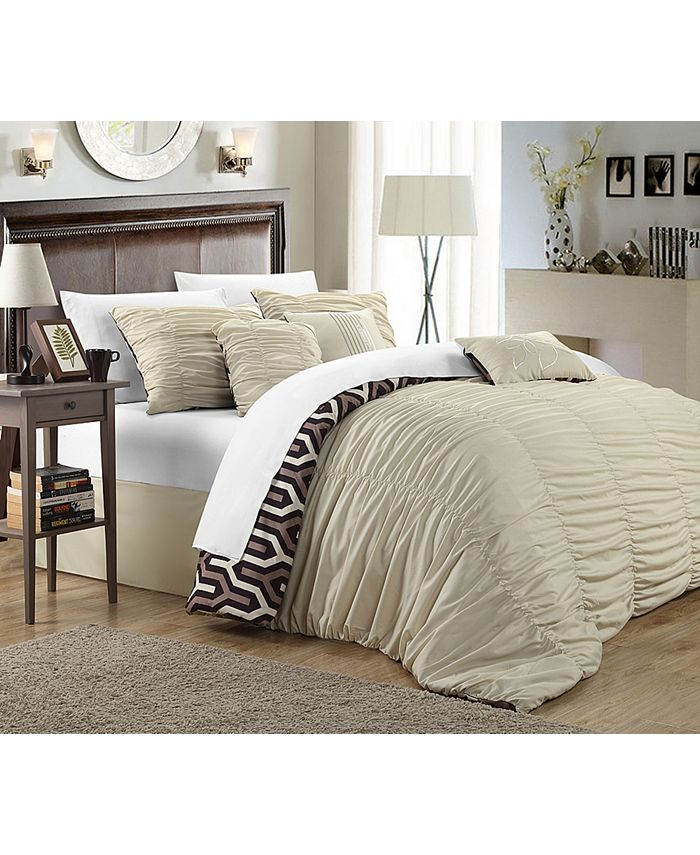 Chic Home - Lessie 7-Pc. Comforter Sets
