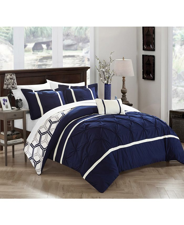 Chic Home - Marcia 4-Pc. Comforter Sets