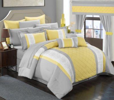 Danielle 24-Pc King Comforter Set