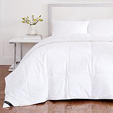 Royalty 233  Thread Count Cotton Allergen Barrier Down Alternative Comforter - Full/Queen