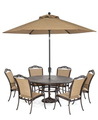 Beachmont Outdoor  Piece Lounge Set  Adjustable Chairs - Macy outdoor furniture