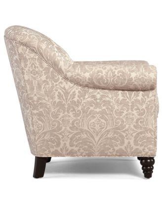 Martha Stewart Collection Living Room Chair, Club Accent