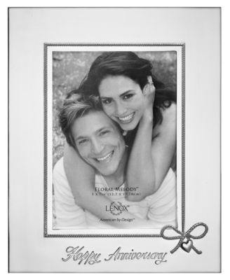 lenox picture frame best wishes happy anniversary 5
