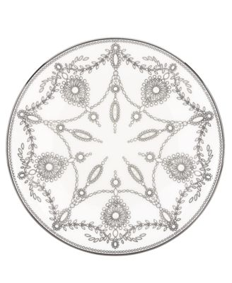 Marchesa by Lenox Dinnerware, Empire Pearl Accent Plate