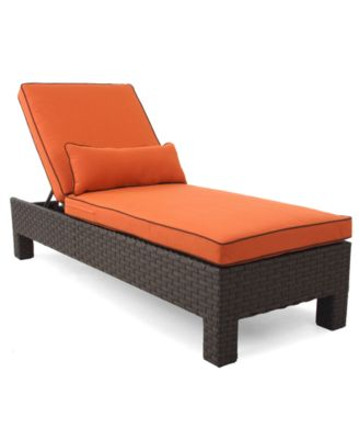Belize Wicker Patio Furniture, Outdoor Chaise Lounge - furniture ...