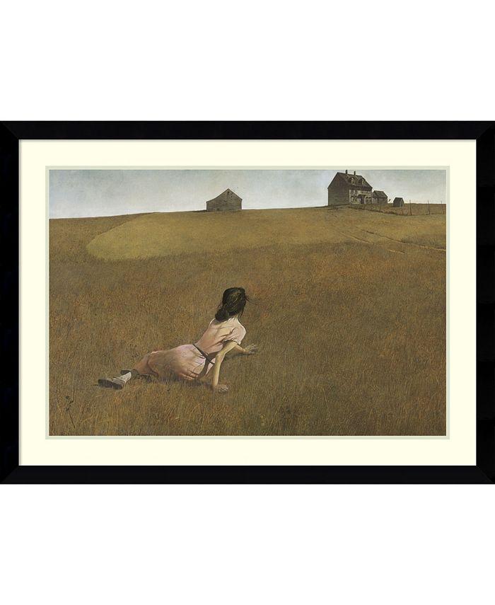 Amanti Art - Christina's World 43x31 Framed Art Print