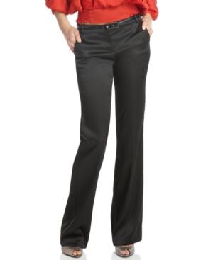 XOXO Pants, Belted Wide Leg