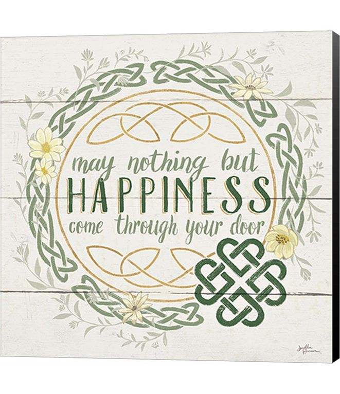 Metaverse Irish Blessing I by Myles Sullivan Canvas Art