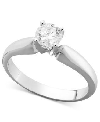 10k White Gold Diamond Wedding Band 89 Good Diamond Ring k White