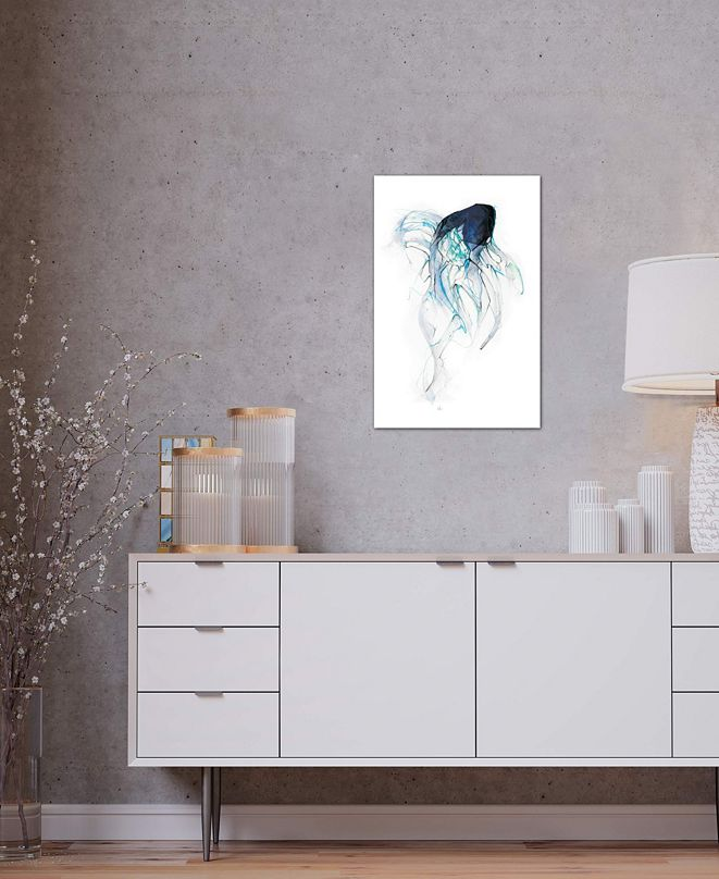 "iCanvas ""Ghost Fish"" by Alexis Marcou Gallery-Wrapped Canvas Print (40 x 26 x 0.75)"