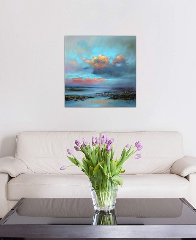 "iCanvas ""Hebridean Light I"" by Scott Naismith Gallery-Wrapped Canvas Print (26 x 26 x 0.75)"