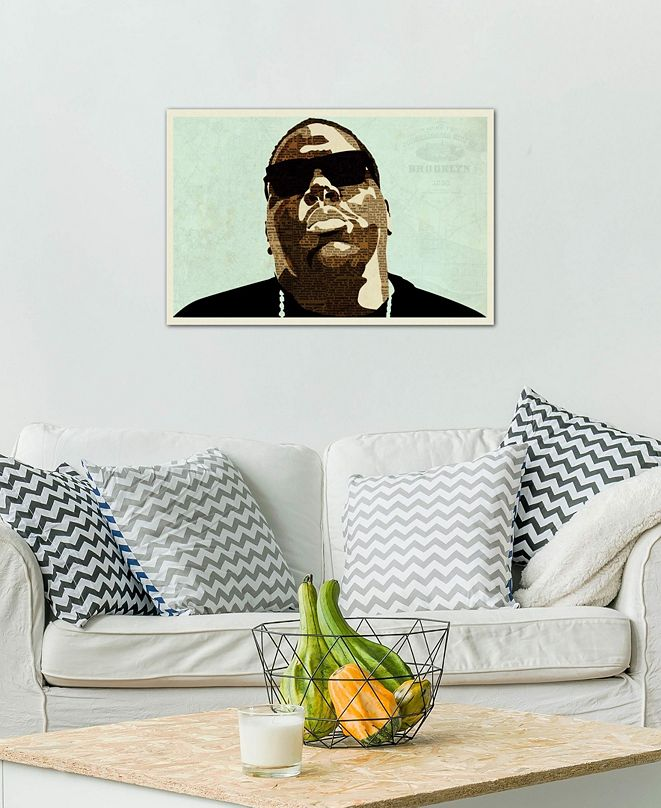 "iCanvas ""Biggie"" by Kyle Mosher Gallery-Wrapped Canvas Print (26 x 40 x 0.75)"