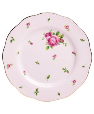 Royal Albert Old Country Roses Pink Vintage Salad Plate