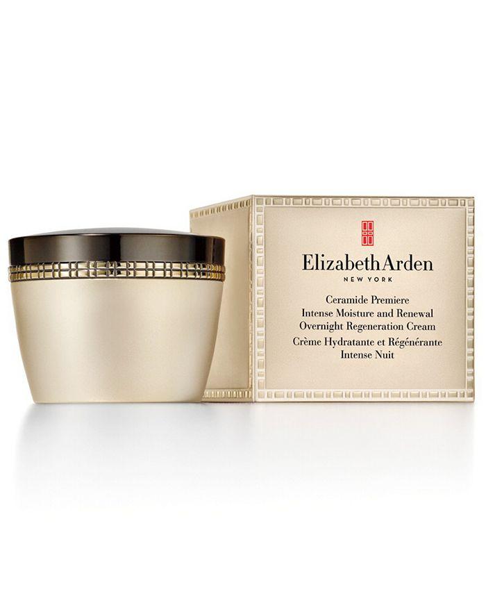 Elizabeth Arden - Ceramide Premiere Intense Moisture and Renewal Overnight Regeneration Cream, 1.7 oz