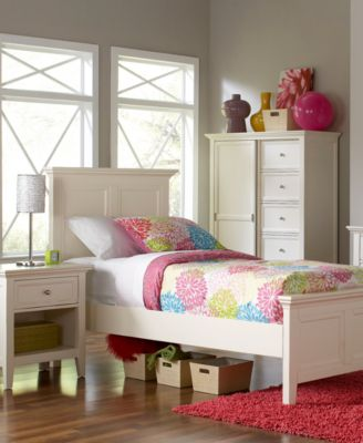 Sanibel 3 Piece Full Bedroom Set with Dresser. Sanibel 3 Piece Full Bedroom Set with Dresser   Furniture   Macy s