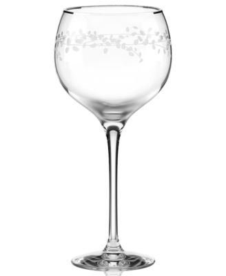 kate spade new york Gardner Street Platinum Signature Goblet