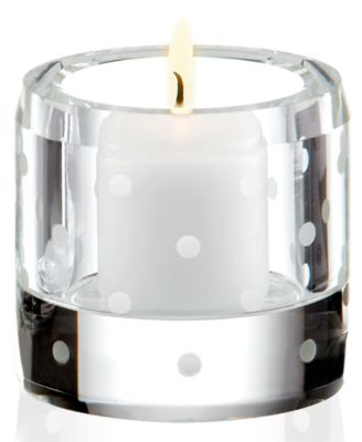 kate spade new york Candle Holder, Larabee Dot Votive