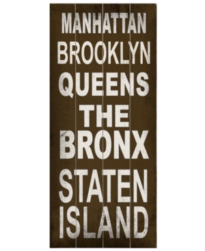 ArteHouse Wall Art, Manhattan Transit Sign