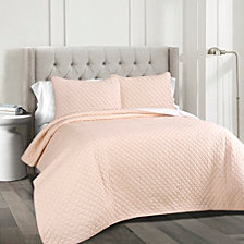 Ava Cotton 3-Piece King Quilt Set