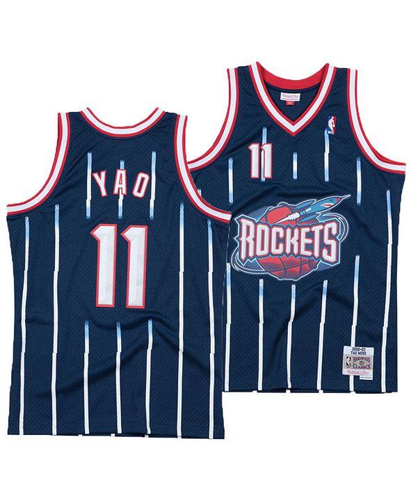 Mitchell & Ness Men's Yao Ming Houston Rockets Hardwood Classic Swingman Jersey