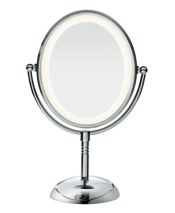 Conair - Oval LED Lifetime Lighting Double-Sided Mirror