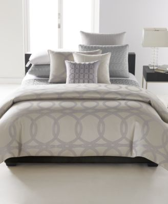 CLOSEOUT! Hotel Collection Calligraphy Queen Duvet Cover