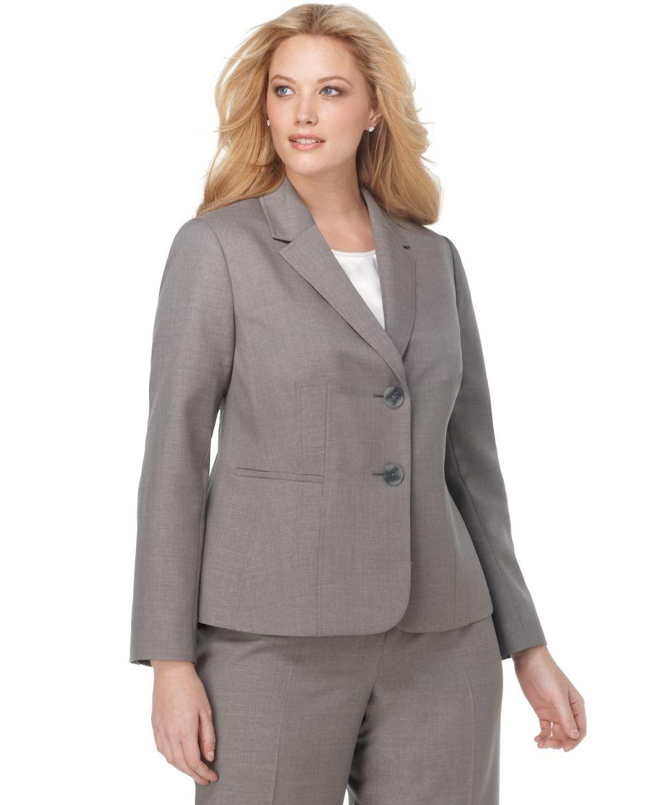 Kasper Plus Size Dress, Sleeveless Scoop Neck Sheath   Womens Suits