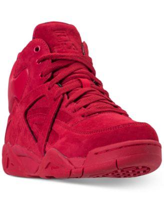 high top fila boots