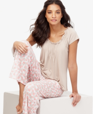 Alfani Pajamas, Short Sleeve Top
