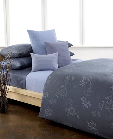 Closeout Calvin Klein Kent Comforter And Duvet Cover Sets