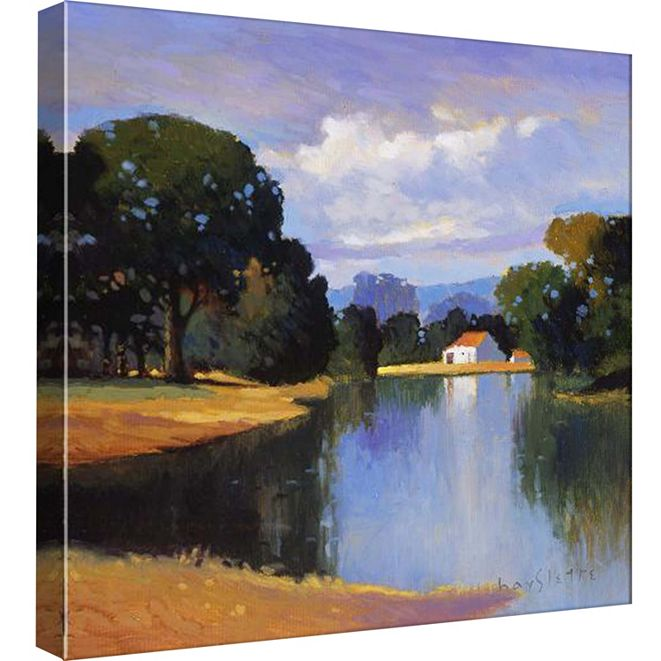 PTM Images On Greenbrier I Decorative Canvas Wall Art