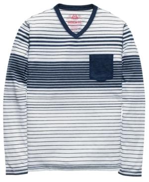 American Rag Shirt, V Neck Pocket