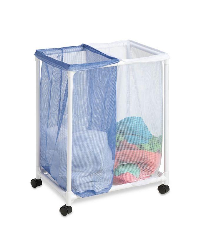 Honey Can Do - 2 Bag Mesh Laundry Sorter