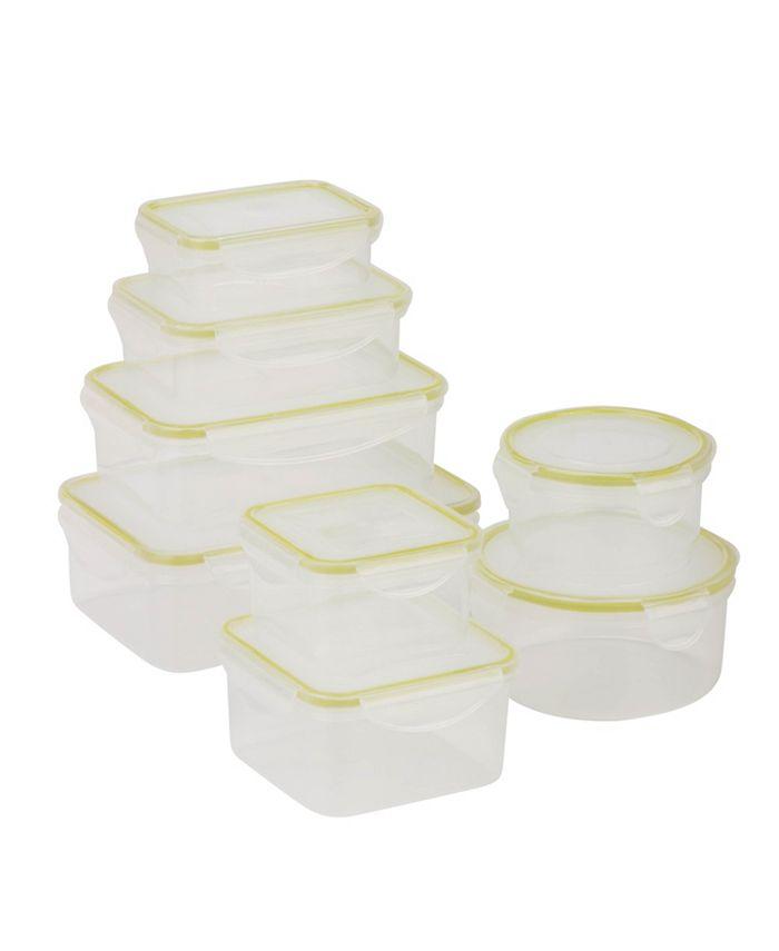 Honey Can Do - Locking 16-Pc. Food Storage Set