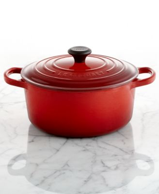 CLOSEOUT! Le Creuset Signature Enameled Cast Iron 3.5 Qt. Round French Oven